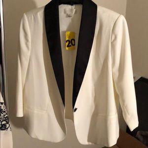 Plus Size Tuxedo style blazer